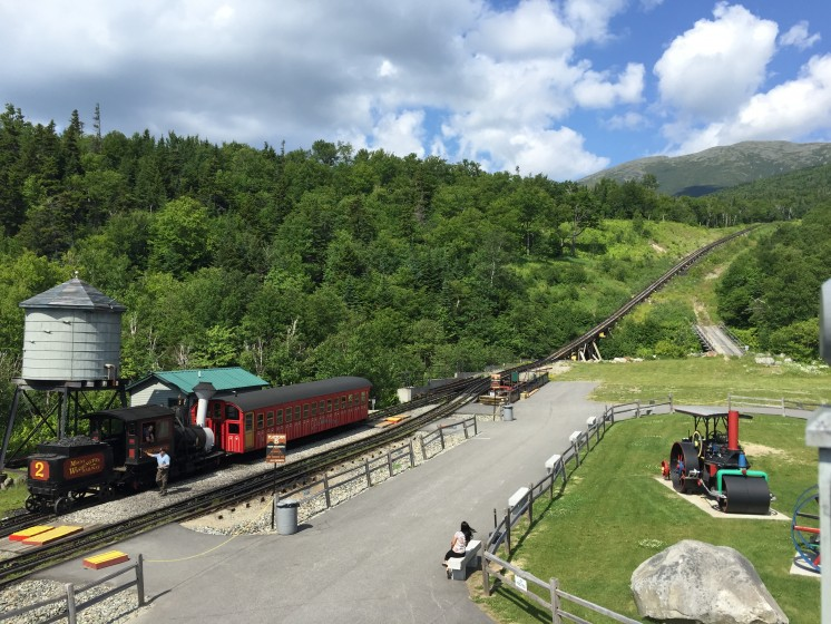 The Cog Railway New Hampshire