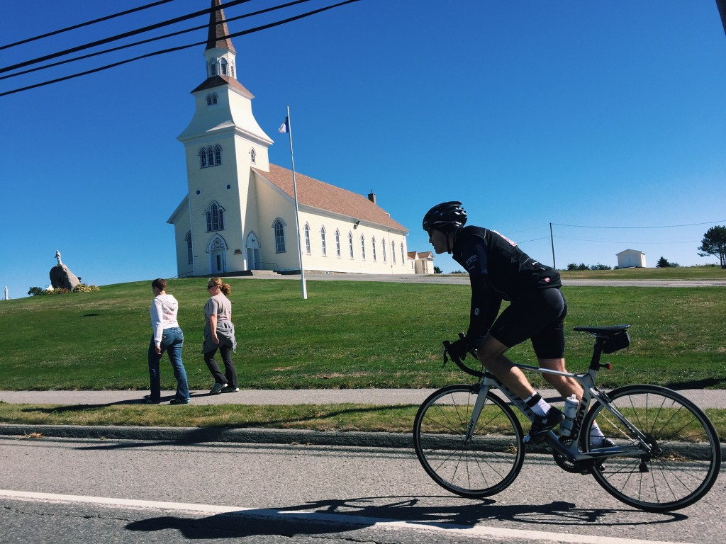 Gran Fondo Clare Baie Sainte Marie Nova Scotia