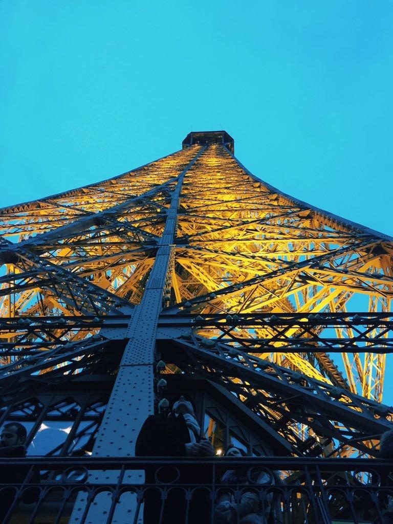 The Eiffel Tower at Dusk Paris
