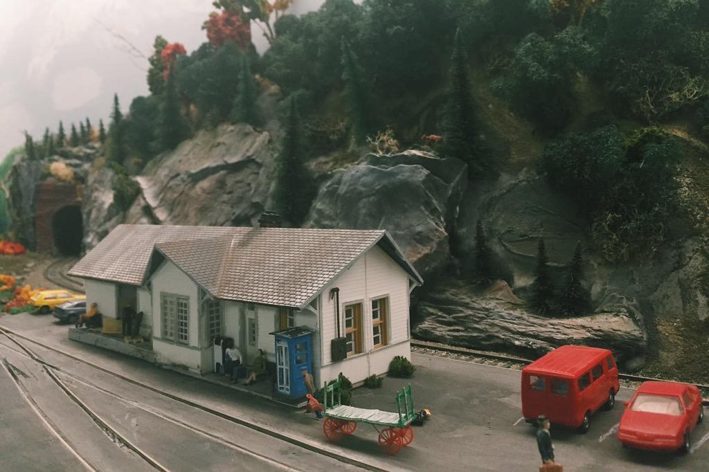 Mini Train Set Edmundston