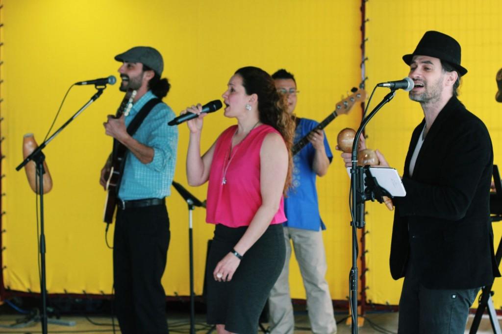 Latin Drama playing at the Halifax Seaport Farmers' Market