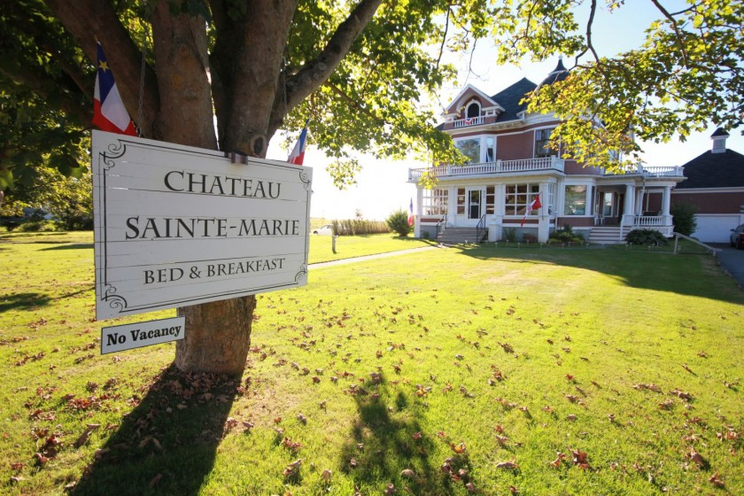 Chateau Sainte-Marie Bed and Breakfast Clare Nova Scotia