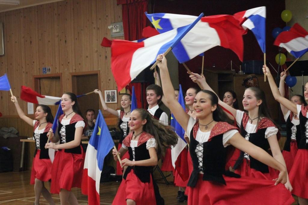 Acadian Dancers - Gran Fondo Baie Sainte Marie